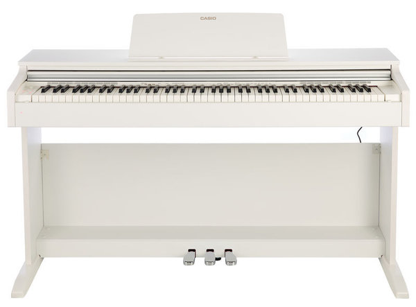AP-270WE Celviano White wood tone finish
