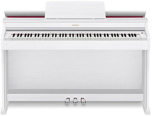 AP-470 WE Celviano White wood tone finish