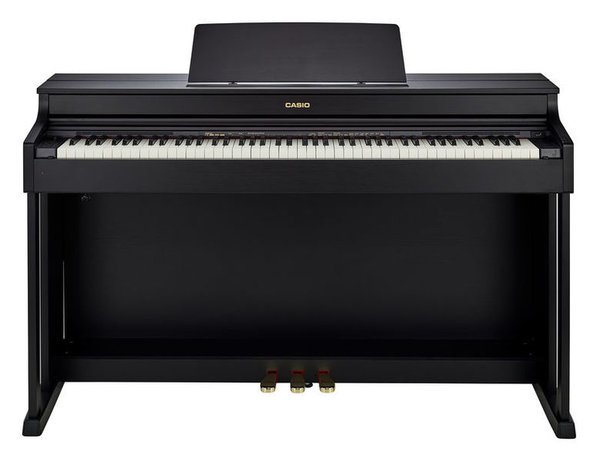 AP-470 BK Celviano Black wood tone finish