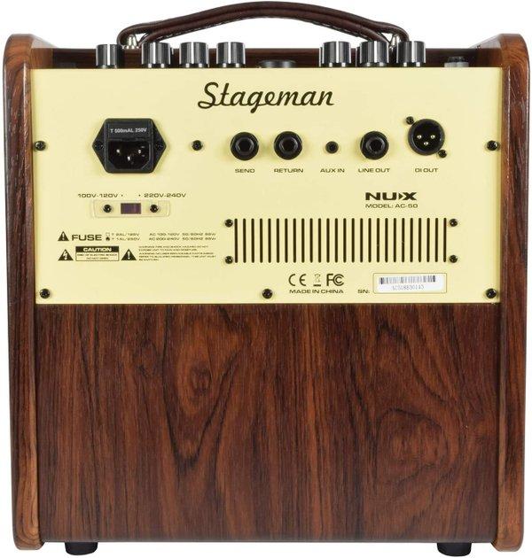 NUX Stageman AC50 | Acoustic Guitar & Vocals Amplifier