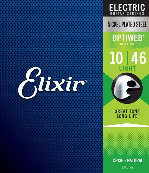 "Elixir Optiweb Nickel Plated Steel (9"", 10"" & 11"")"