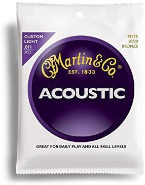 Martin M175 Acoustic Bronze Custom Light ( 11-52 )