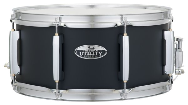 Modern Utility 14x6.5 Snare Drum Black Ice