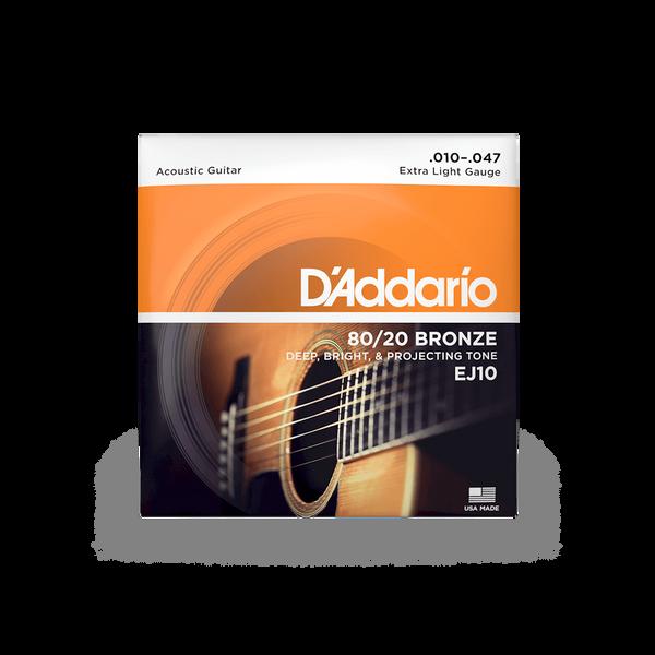D'Addario EJ10 Extra Light - 10-47