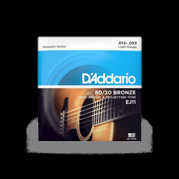 D'Addario EJ11 Regular Light - 12-53