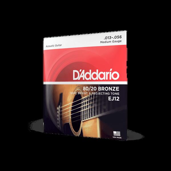 D'Addario EJ12 Medium - 13-56
