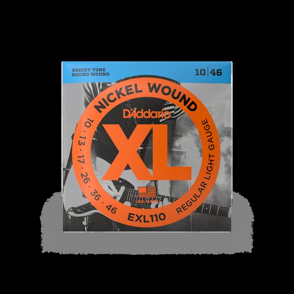 D'Addario EXL110 Regular Light - 10-46