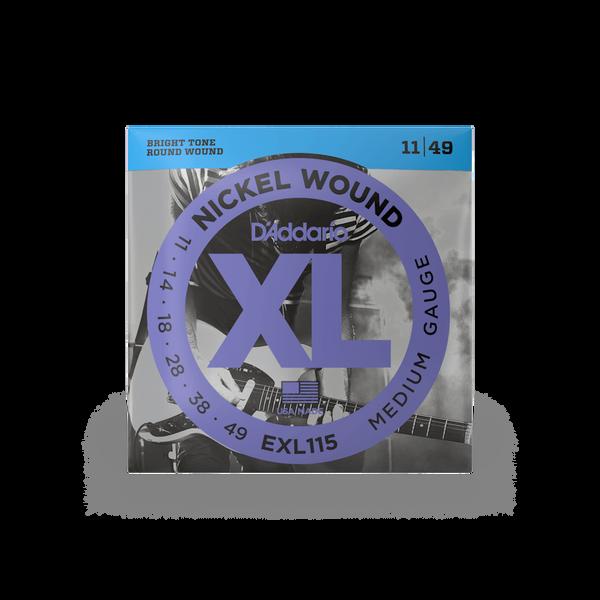 D'Addario EXL115  Medium - 11-49